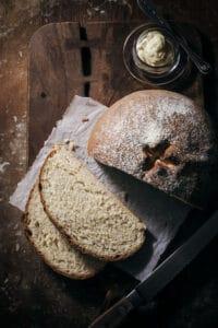 Easy to Make Rustic White Bread Recipe
