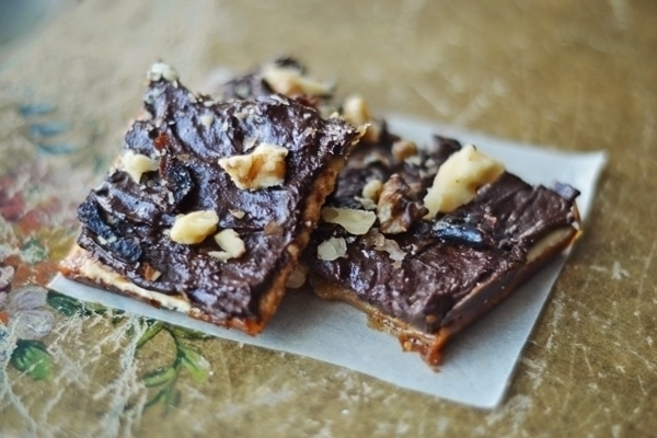 Chocolate Toffee Brittle