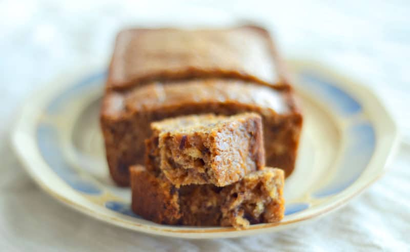 This Earl Grey Tea Loaf, is wonderful for breakfast or dessert and is perfect to serve up for special occasions like #MothersDay. Recipe found @LittleFiggyFood