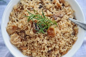 Side Dishes: The Best Rice Consomme Recipe