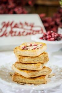 Cranberry Cream Cheese Pastries, Dessert Goodness!