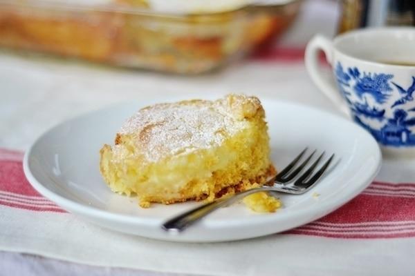 Cream Cheese Coffee Cake - Chess Cake