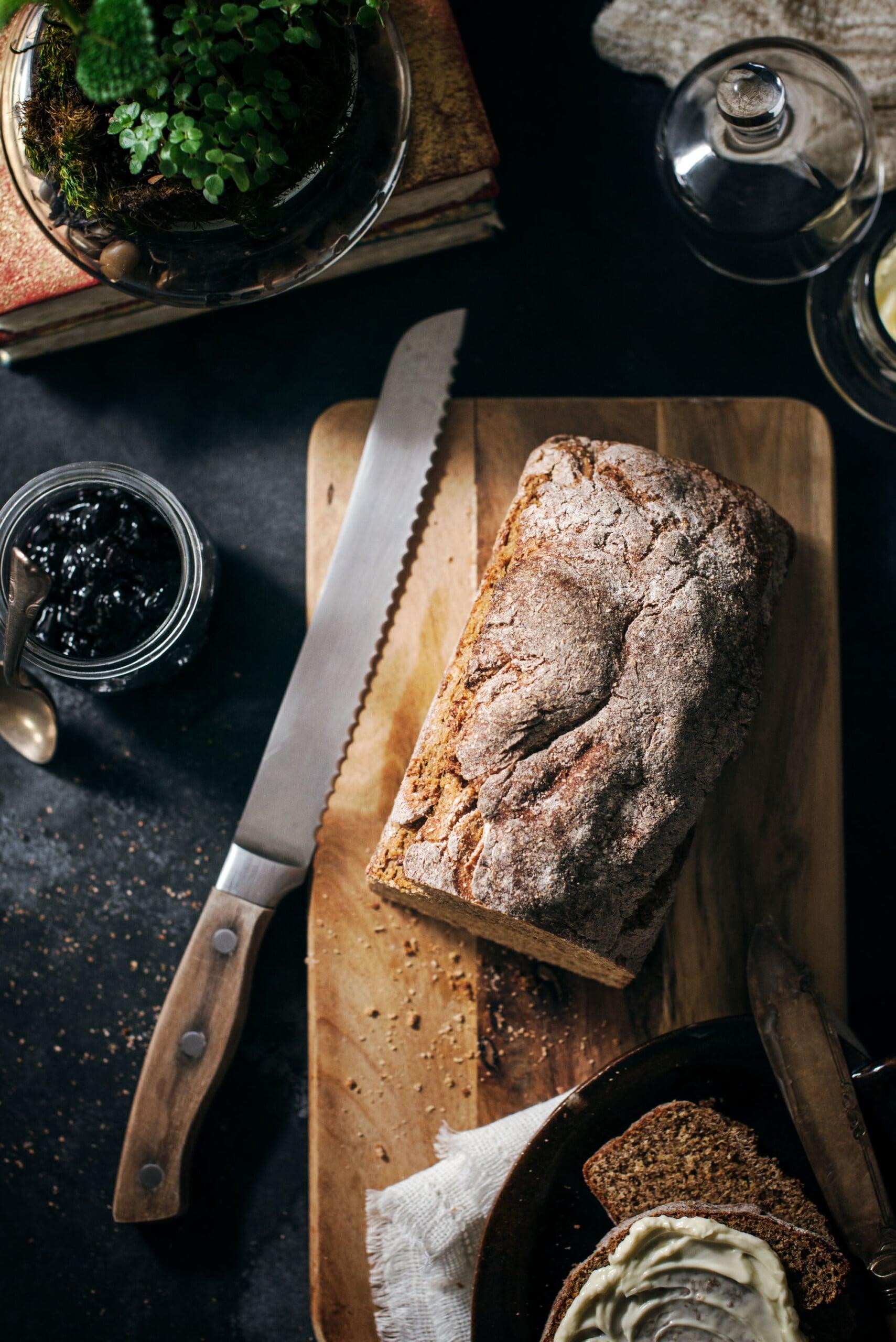 Authentic No Yeast Irish Brown Bread Recipe