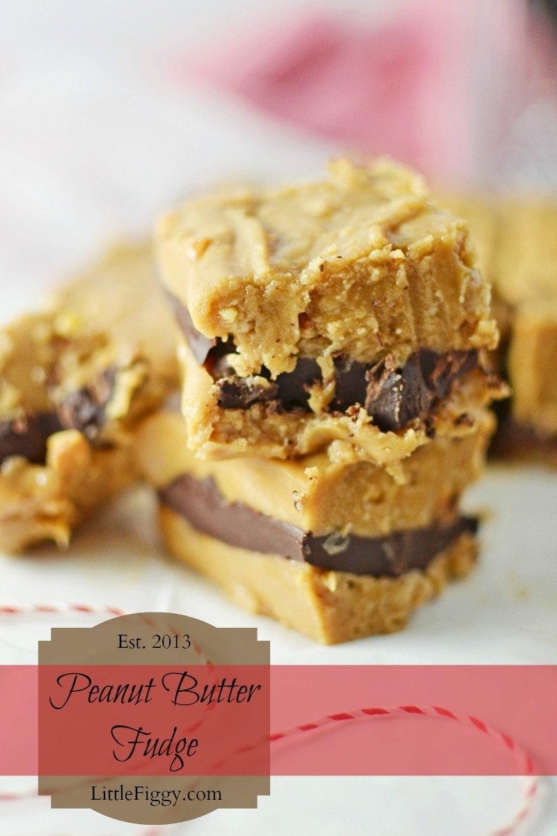 Peanut-Butter-Fudge-@LittleFiggyFood-#PeanutButterFudge