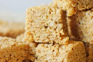 Salted Caramel Rice Crispy Treats