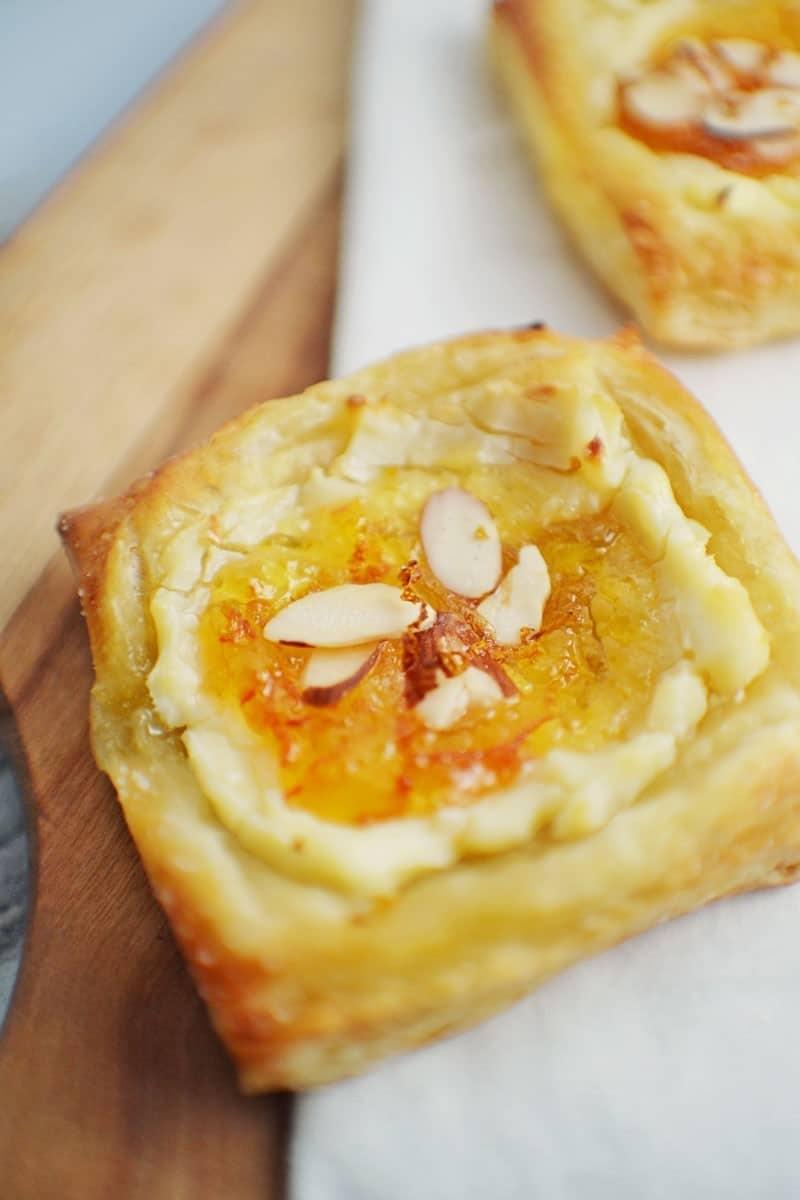 Marmalade Cream Cheese Danish