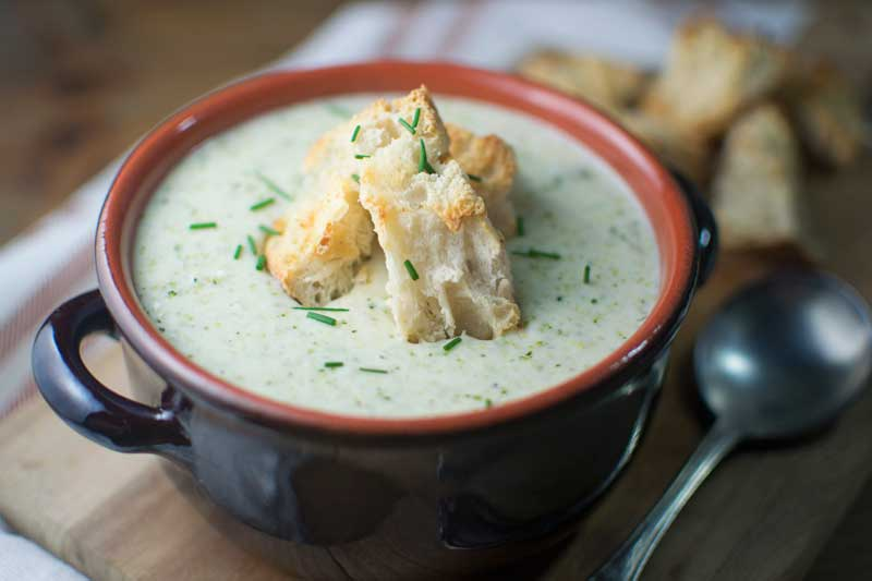 Creamy Broccoli Potato Soup