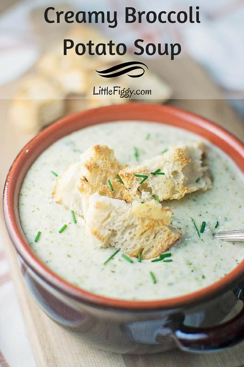 #SoupsOn - #BroccoliSoup - #Soup - @LittleFiggyFood