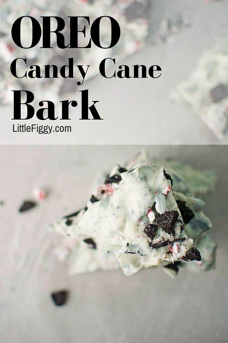 #Nabisco - @LittleFiggyFood - #Holidays - #Oreos - Oreo Candy Cane Bark