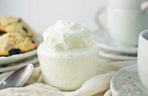 Cheats Clotted Cream