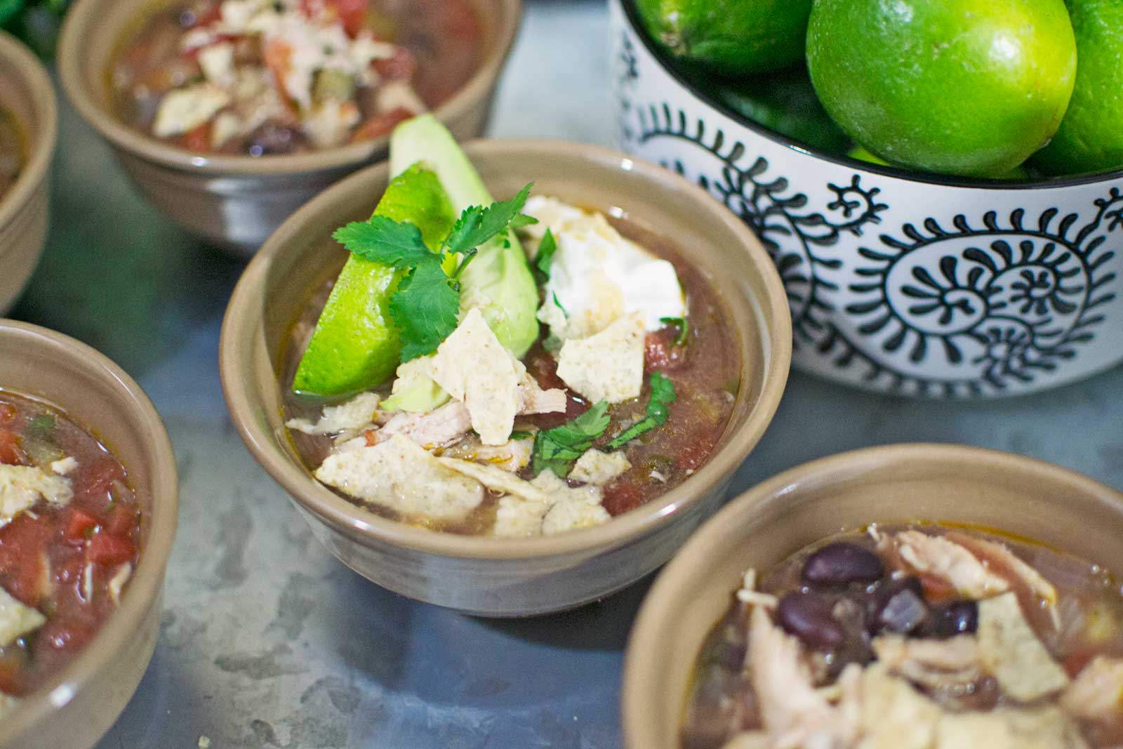 Game Day Ready with Chicken Lime Tortilla Soup