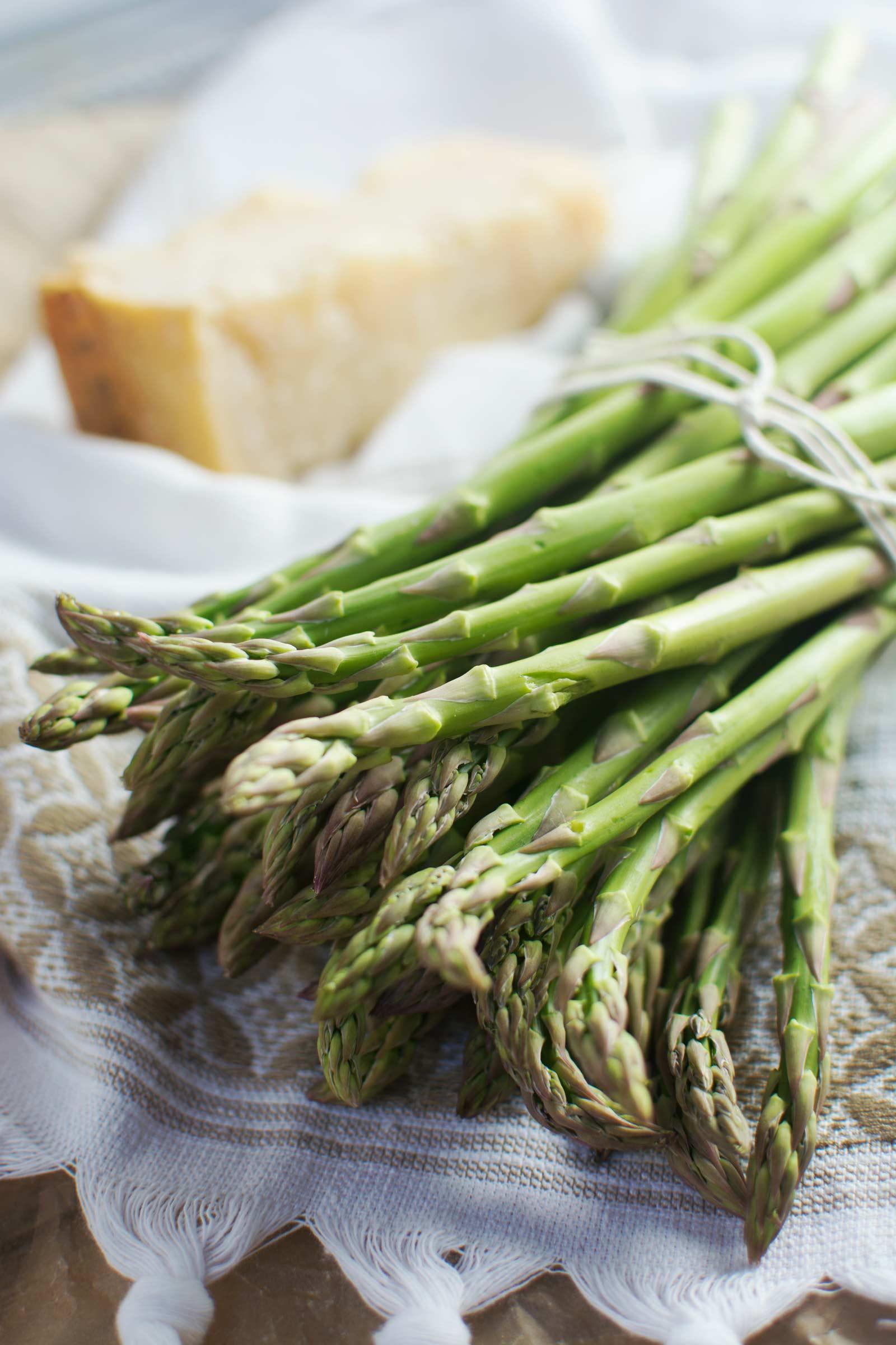 Baked Asparagus Parmesan Fries - @LittleFiggyFood