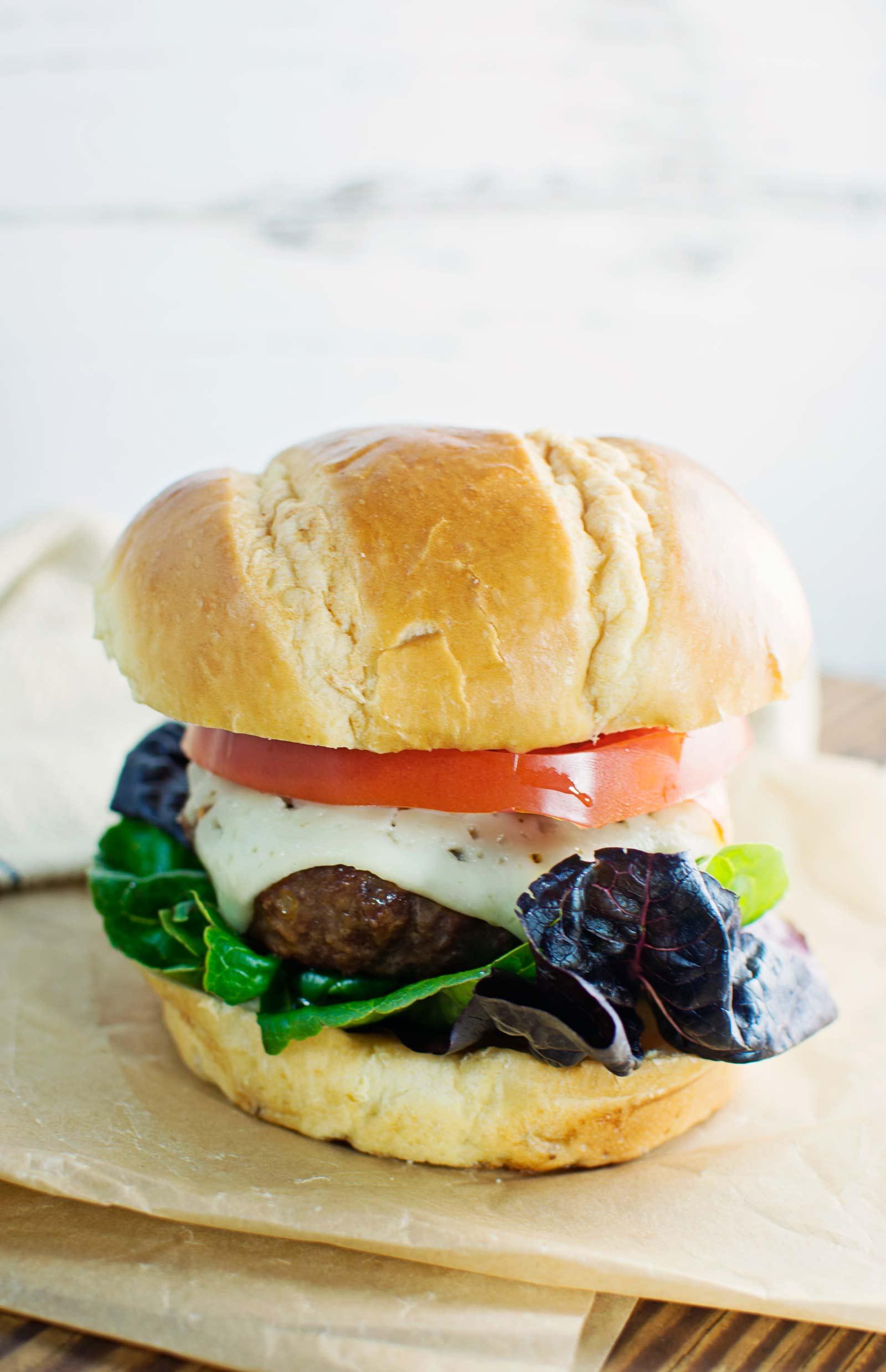 The Best Flippin' Burger! Recipe @LittleFiggyFood