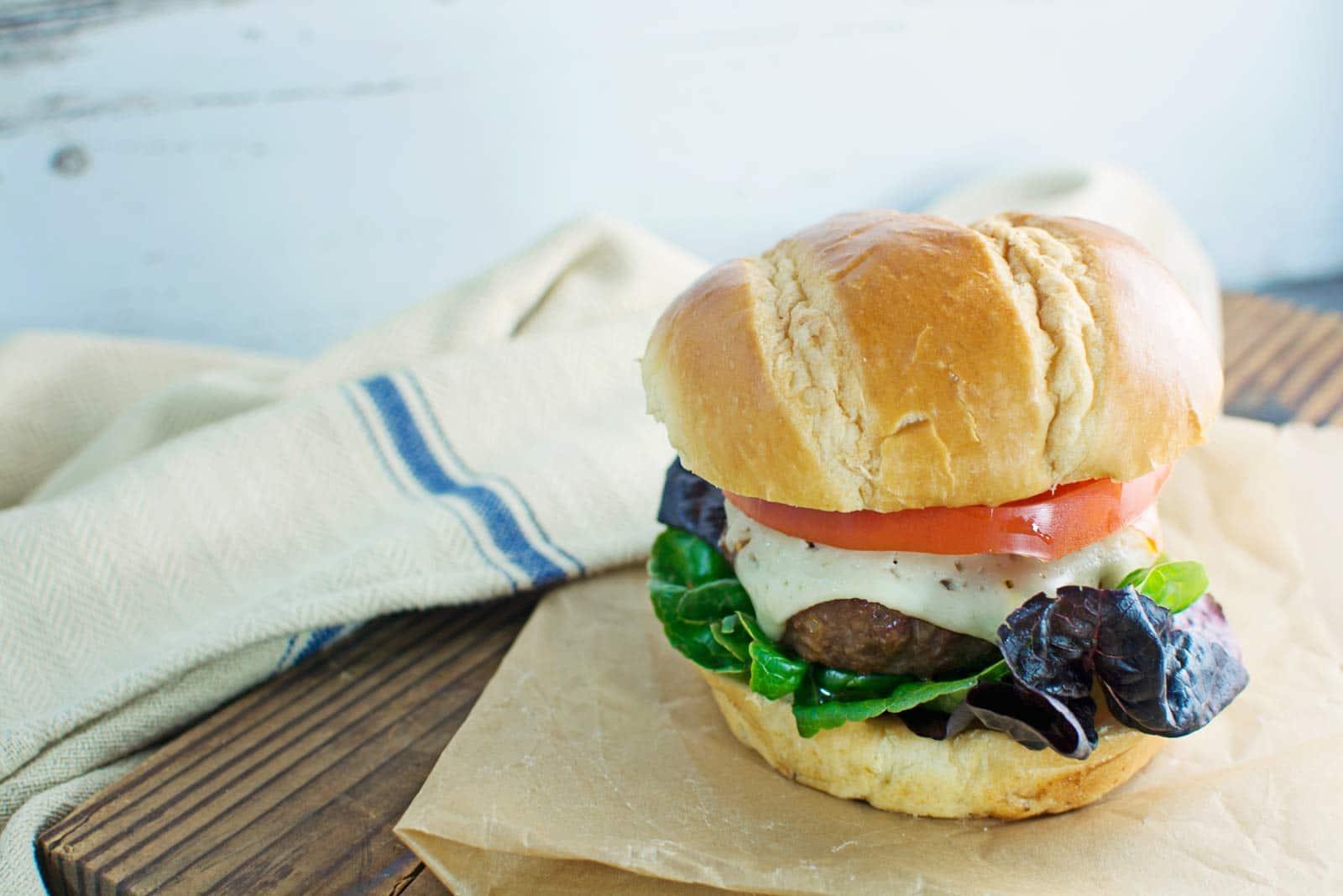 Seriously good, the best Flippin' Burger! Recipe @LittleFiggyFood