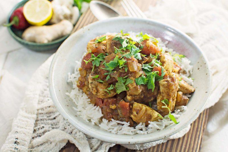 Easy to Make Madras Chicken Curry - Recipe @LittleFiggyFood