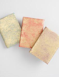 Metallic Leather Notebooks