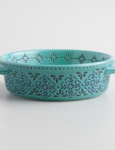 Blue Tile Mosaic Tapas Dish