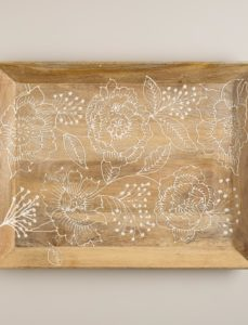 Fortress Bouquet Wooden Tray