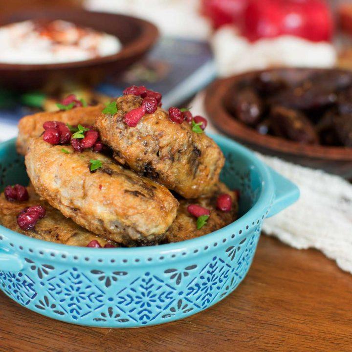 Kofte Turkish Meatballs & My Bohemian Kitchen Update from Cost Plus World Market - Check out how I gave my kitchen a #fallrefresh - @LittleFiggyFood