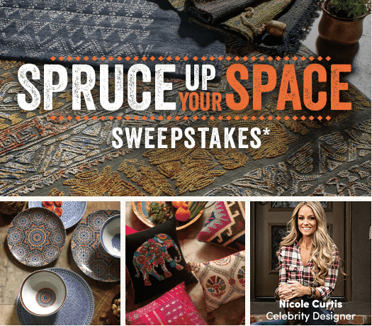 Spruce Up Your Space Sweepstakes from Cost Plus World Market