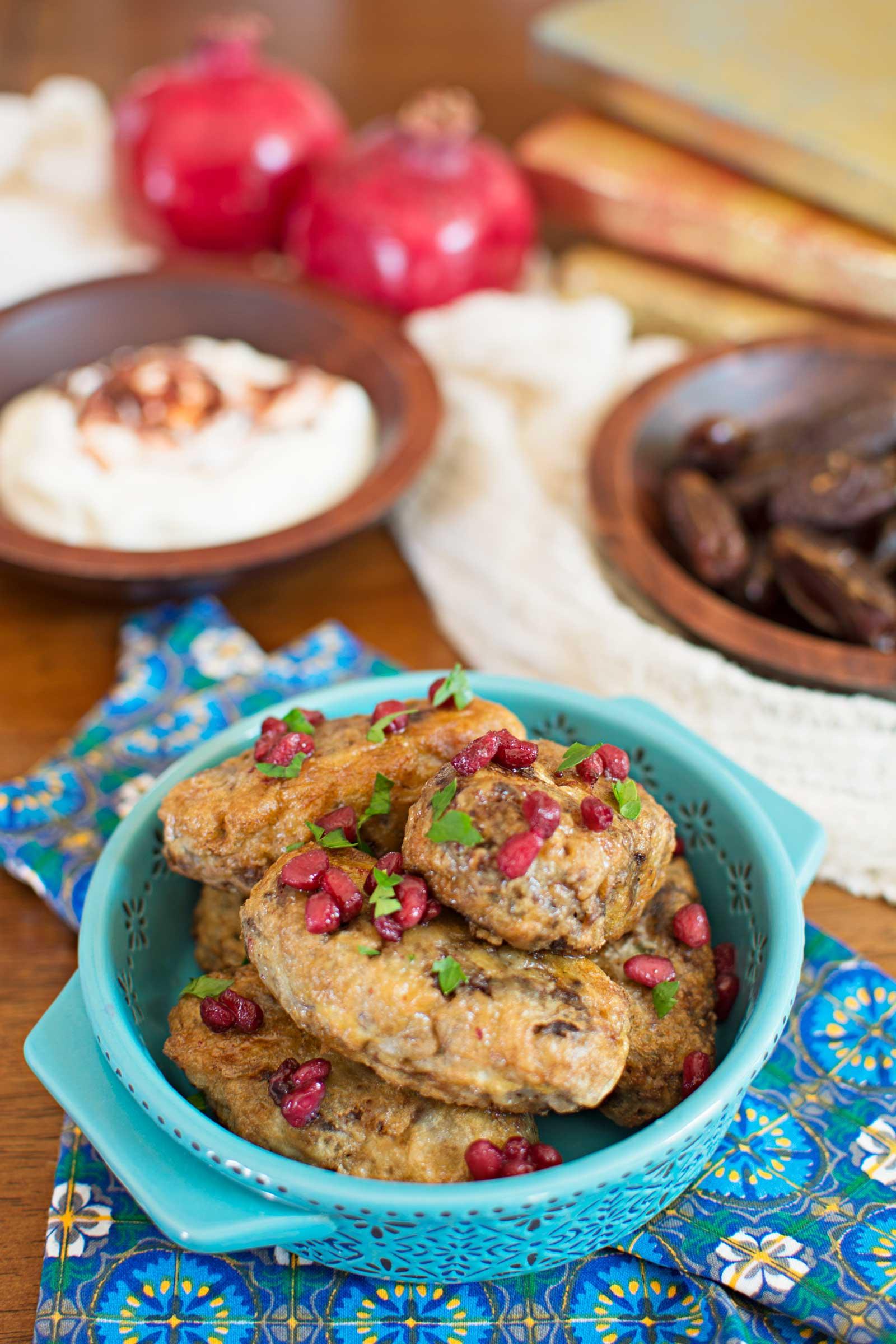 Kofte Turkish Meatballs - part of my Bohemian Love