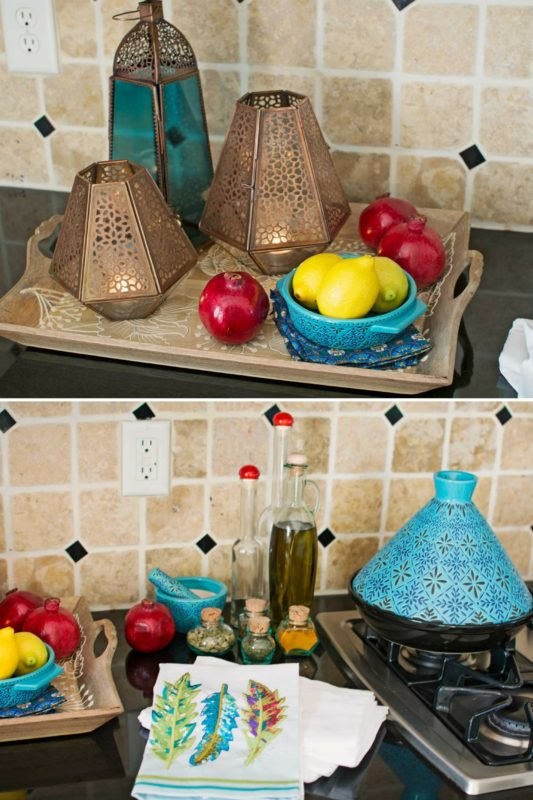 My Bohemian Kitchen Update from Cost Plus World Market - Check out how I gave my kitchen a #fallrefresh - @LittleFiggyFood