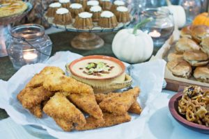 """How we enjoy """"The CMA Awards"""" + Fried Cheese Grits + Sweepstakes"""