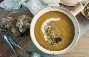 Chipotle Pumpkin Soup