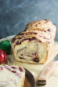 Cranberry Cream Cheese Babka