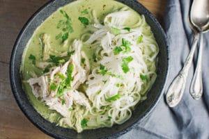 Thai Chicken Noodle Bowl