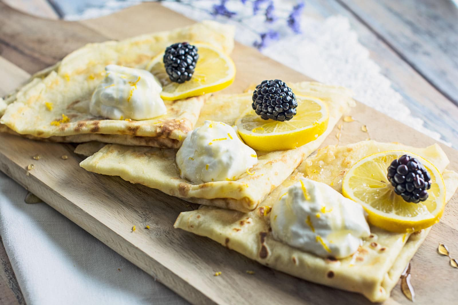 Basic Parisian Crepes