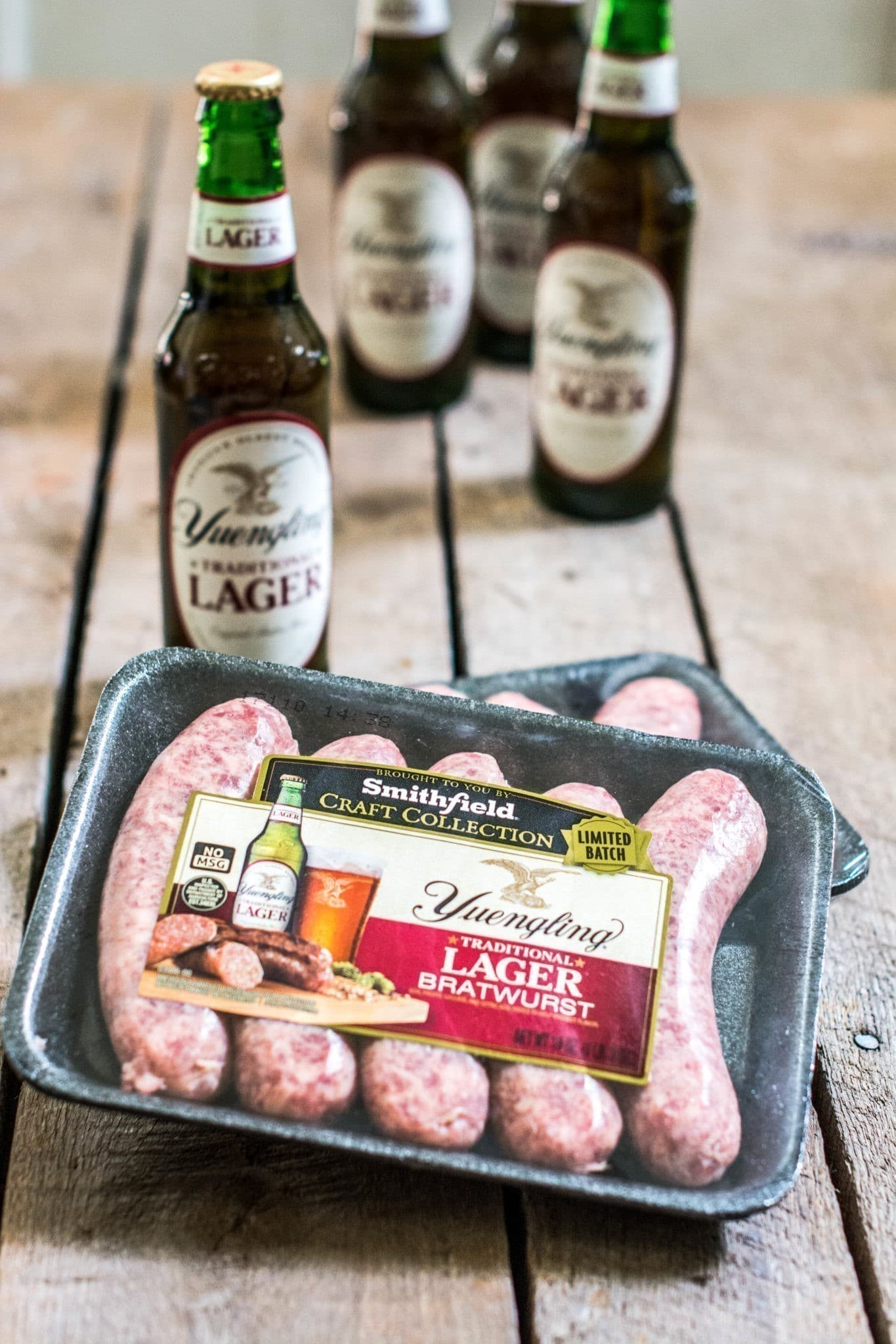 Smithfield® Yuengling® Bratwurst are perfect for your summertime fun! Read more at Little Figgy Food about #BeerBrats with @SmithfieldBrand and @Yuengling_Beer. #ad