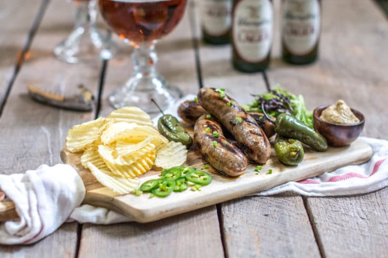 Try Smithfield® Yuengling® Bratwurst, the answer to your summertime BBQs. Read more at Little Figgy Food about #BeerBrats with @SmithfieldBrand and @Yuengling_Beer. #ad