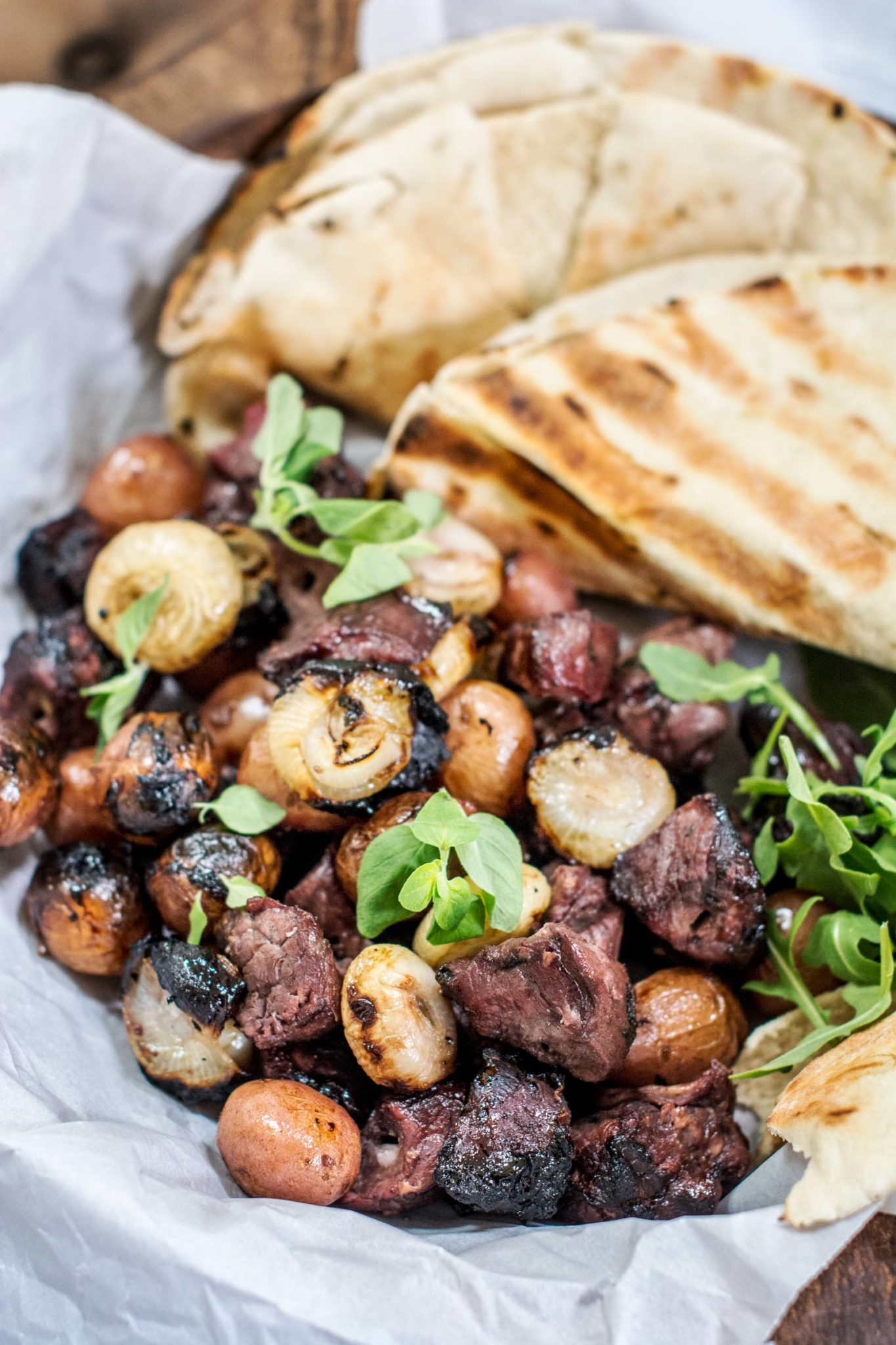 Simple and Easy to Make Honey Lamb Kabobs