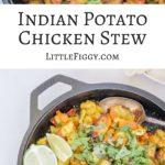 Indian Potato Chicken Stew