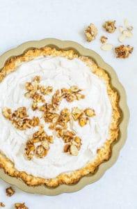 Chai Coconut Macaroon Pie, Friends & Good Times