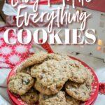 Everything Cookies recipe