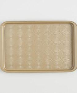 Gold Luxe Textured Nonstick Baking Sheet