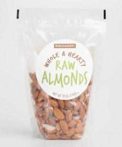 World Market Raw Almonds