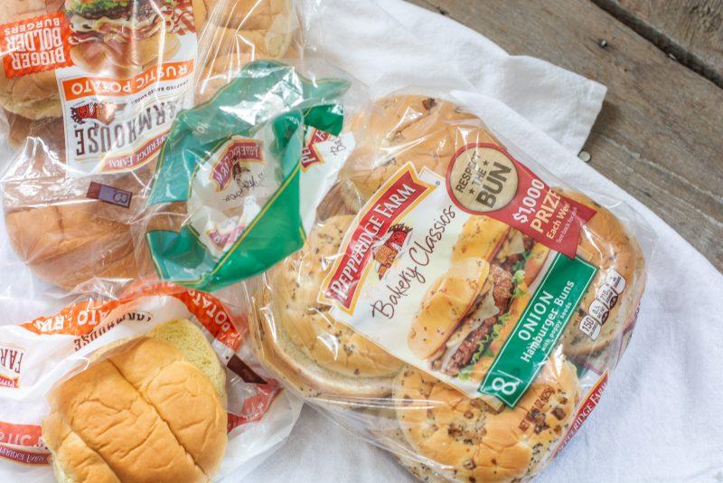 Pepperidge Farm Hamburger Buns in packaging