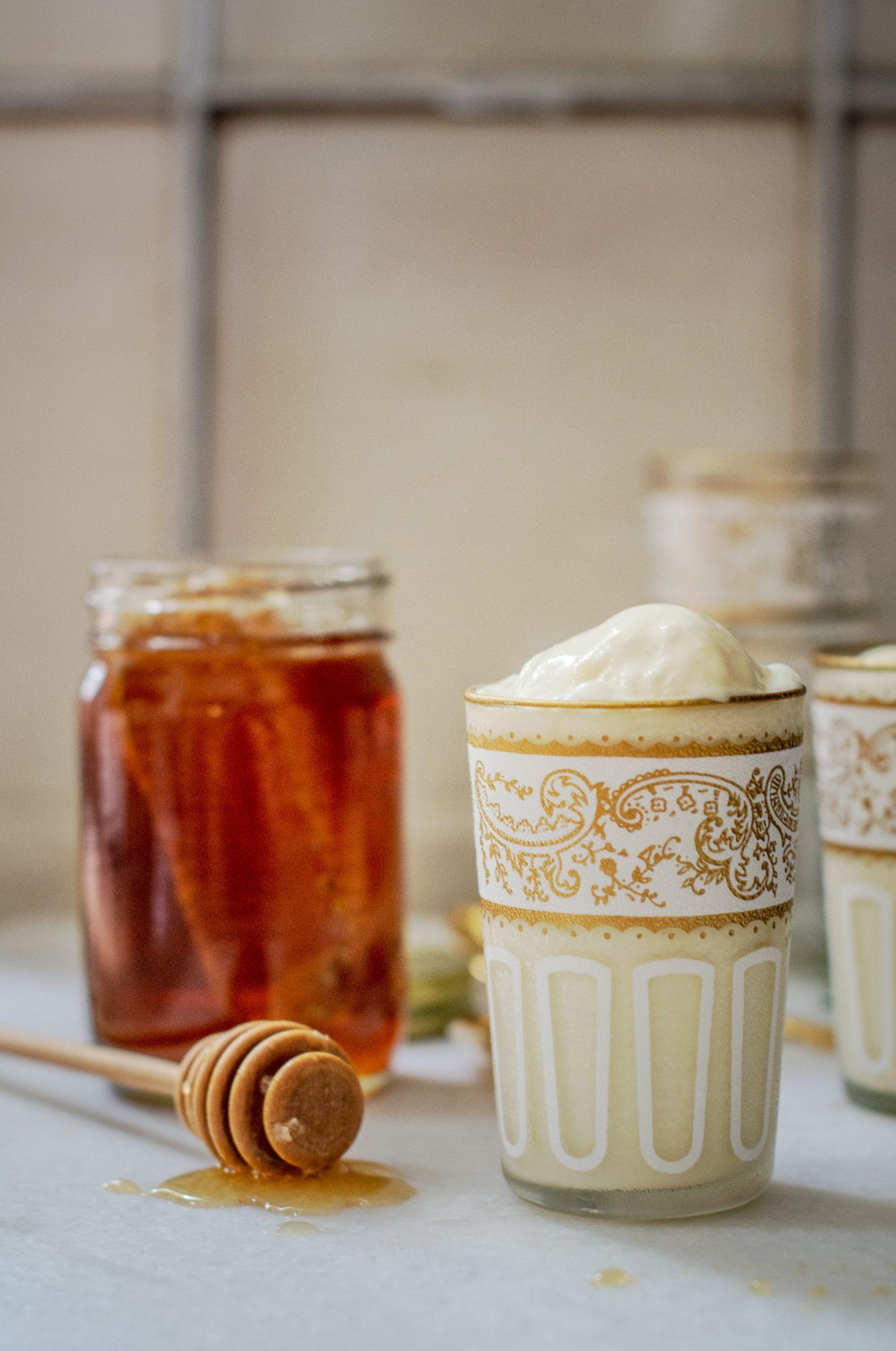 Rosemary and Honey Ice Cream Recipe