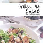 Make a simple grilled fig salad to serve as an gorgeous addition to dinner.