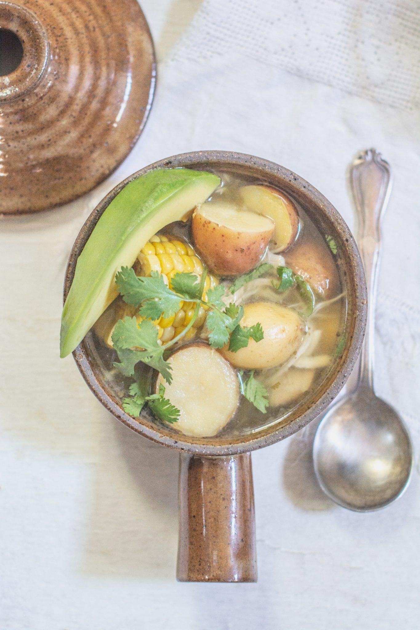 Instant Pot Chicken Corn and Potato Stew
