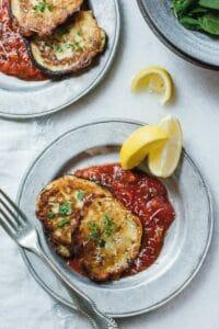 Ricotta Cakes in Tomato Sauce – Lenten Recipe