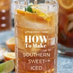 How to Make Southern Sweet Iced Tea