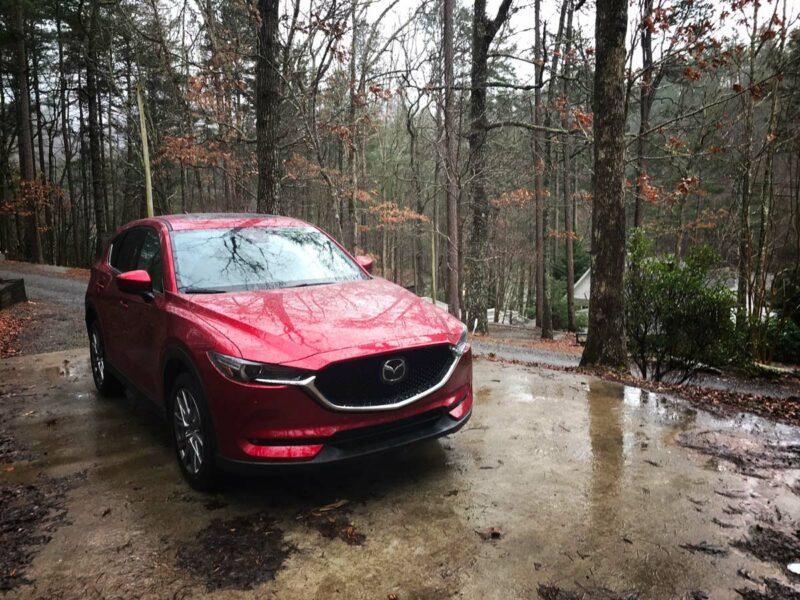 Mazda CX-5 at the cabin