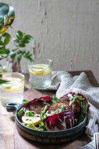 Seafood Lettuce Wraps, a Tasty Crab Cake Recipe!