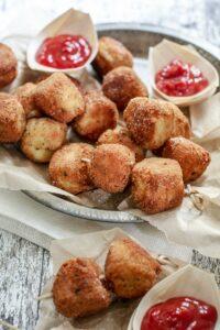 Vegetable Potato Nuggets Kid-Friendly Snack Recipe