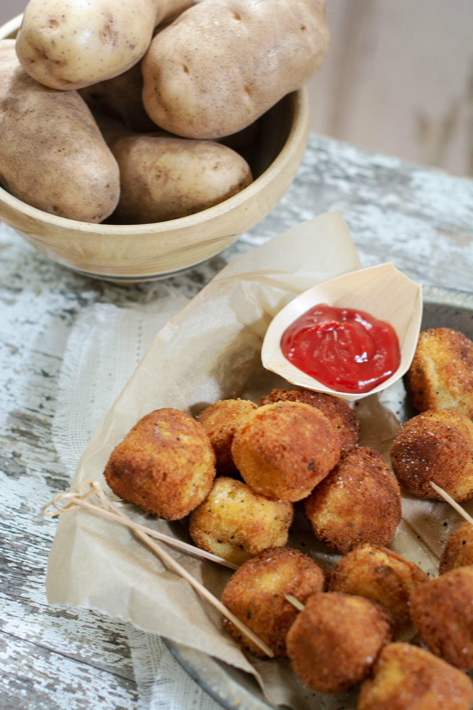 Idaho Potatoes make the ideal potato nuggets