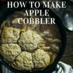 How to make apple cobbler